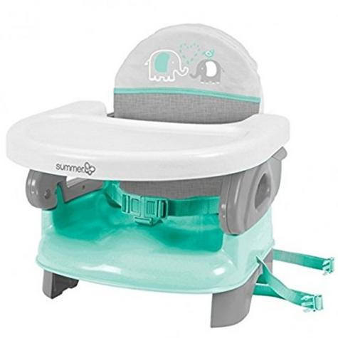 Summer Infant Deluxe Comfort Folding Booster Seal|Indoor Outdoor Fedding|Teal| Thumbnail 2