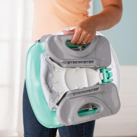 Summer Infant Deluxe Comfort Folding Booster Seal|Indoor Outdoor Fedding|Teal| Thumbnail 4