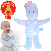 In the Night Garden Baby/Kids Soft & Cuddly Toy-Iggle Piggle | With Rattle+Crinkle