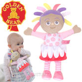 In the Night Garden Baby/Kids Soft & Cuddly Toy-Upsy Daisy | With Rattle+Crinkle