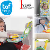 Taf Toys Car Wheel Baby/Kids Toy Travel Activity Centre | With Fun Sounds & Lights