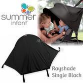 Summer Infant Rayshade®|UV Protector Stroller Sun Shade for Kids|Single|Black|
