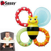 Sassy Bumble Bites Teether | Baby/ Kid/Toddler's Teething Toy | Easy To Grasp & Soft