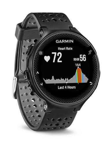 Garmin Forerunner 235 GPS Running Sports Watch | Heart Rate/Live Tracking | Black & Grey Thumbnail 2