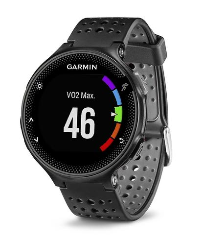 Garmin Forerunner 235 GPS Running Sports Watch | Heart Rate/Live Tracking | Black & Grey Thumbnail 3