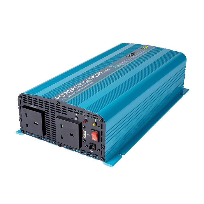 Ring Pure Sine Wave Mains Inverter | 1000 Watt | 24V | Power Source Pro | Battery Backup