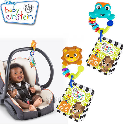 Baby Einstein World Around Me Discovery Cards | Kids Take Along Learning Fun Toy Thumbnail 1