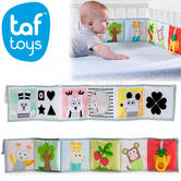 Taf Toys 3 in 1 Soft Baby Development Book | Kids Tummy Time Play With Teether Toy