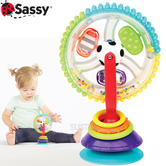Sassy Wonder Wheel | Baby/ Kid/Toddler's Highchair Colouful Toy With Suction Cup | +6 Months
