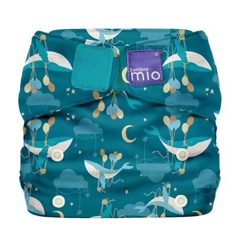 Bambino Mio Miosolo All In One Nappy|Polyester|For Baby No Moisturiser|Sail Away Thumbnail 2