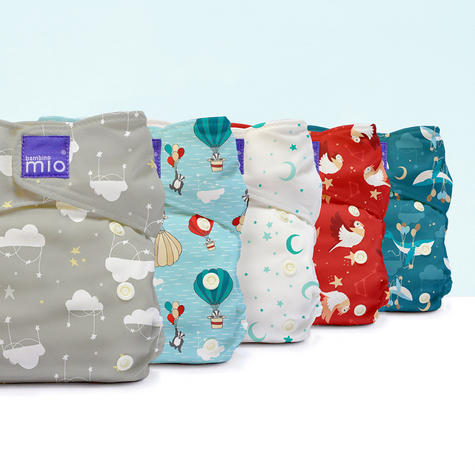 Bambino Mio Miosolo All In One Nappy|Polyester|For Baby No Moisturiser|Cloud Nine Thumbnail 7