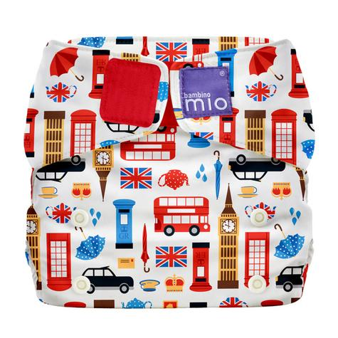 Bambino Mio Miosolo All In One Nappy|Polyester|For Baby No Moisturiser|Great Britain Thumbnail 2