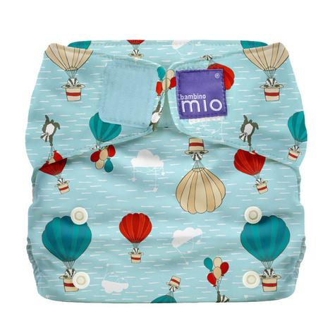 Bambino Mio Miosolo All In One Nappy|Polyester|For Baby No Moisturiser|Sky Ride Thumbnail 2