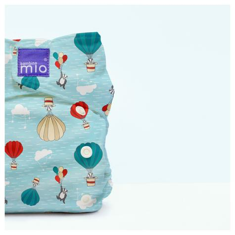 Bambino Mio Miosolo All In One Nappy|Polyester|For Baby No Moisturiser|Sky Ride Thumbnail 3