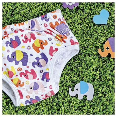 New Bambino Mio Potty Training Pants Pink Elephant|Wetess Feel|80% Cotton|3+yrs Thumbnail 4