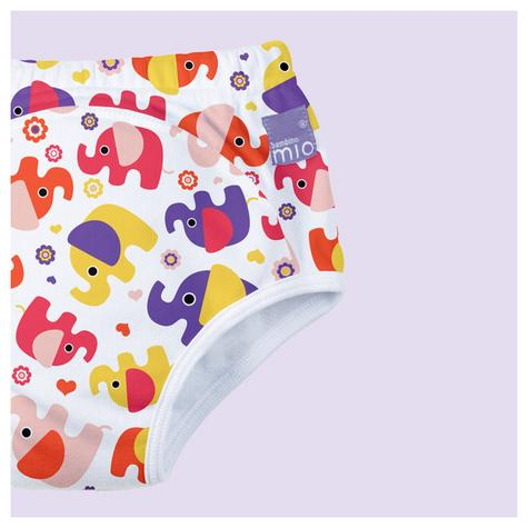 New Bambino Mio Potty Training Pants Pink Elephant|Wetess Feel|80% Cotton|3+yrs Thumbnail 3