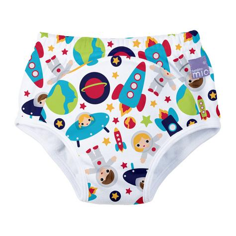 New Bambino Mio Potty Training Pants Outer Space|Wetless Feel|80% Cotton|3+yrs Thumbnail 2