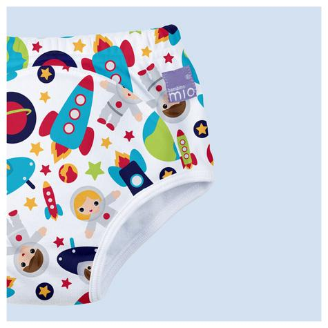 New Bambino Mio Potty Training Pants Outer Space|Wetless Feel|80% Cotton|3+yrs Thumbnail 3