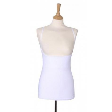 Breastvest Nursing Top White|Maternity Clothing for Mum|Pregnancy Use|Medium Thumbnail 2