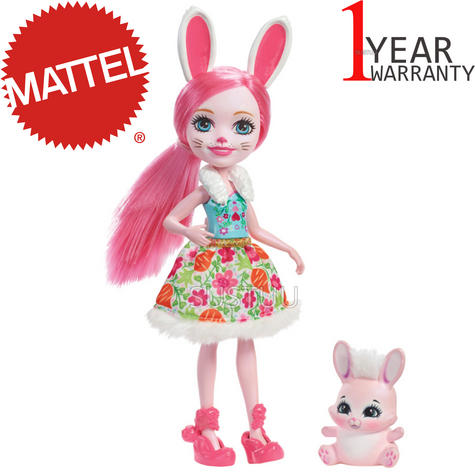 Enchantimals Bunny Doll | Baby/ Kid's Playtime/ Fun Toy | Best Gift To Birthday Girl | +3 Year Thumbnail 1