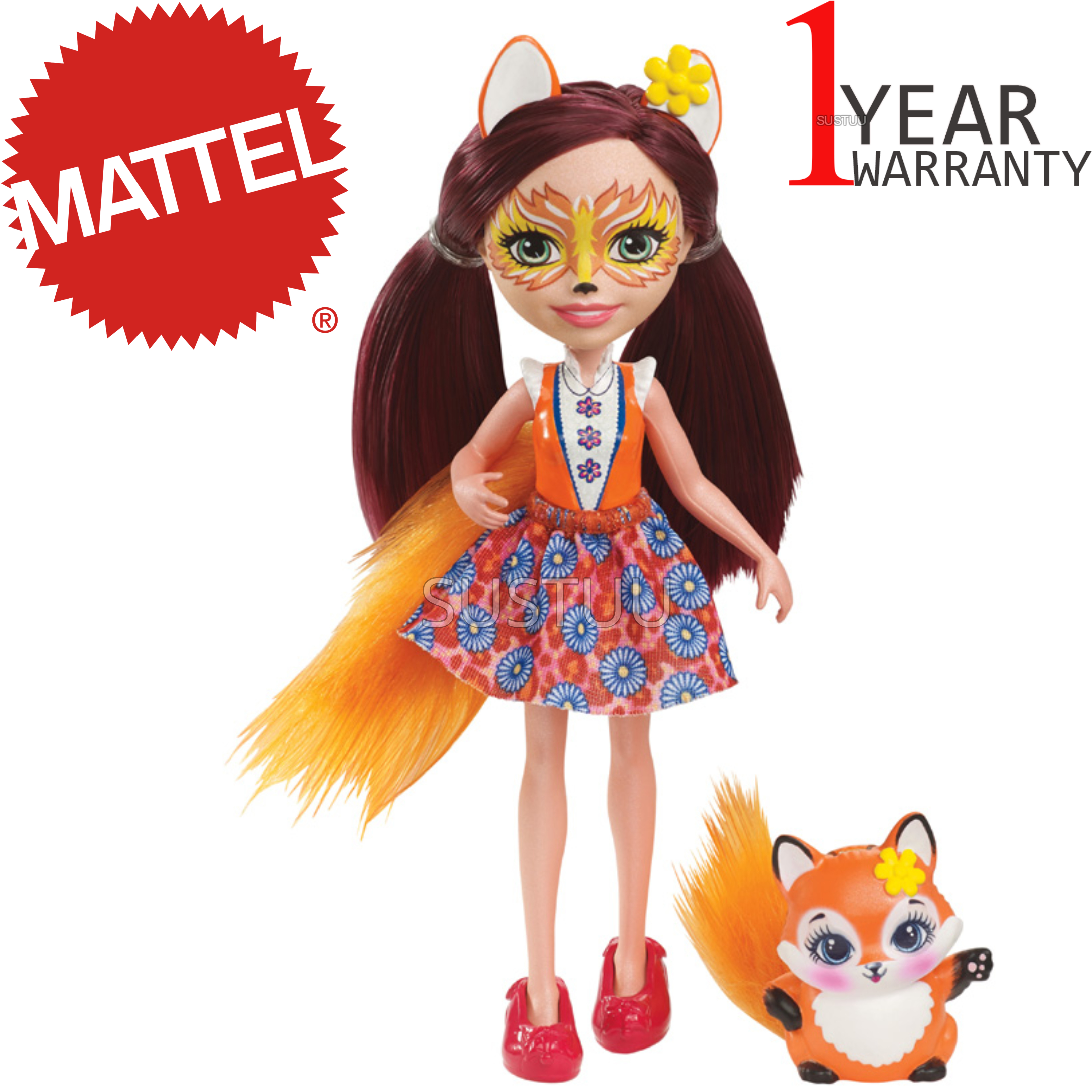Enchantimals Fox Doll | Baby/ Kid's Playtime/ Fun Toy | Best Gift To Birthday Girl | +3 Year