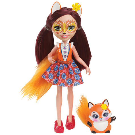 Enchantimals Fox Doll | Baby/ Kid's Playtime/ Fun Toy | Best Gift To Birthday Girl | +3 Year Thumbnail 2