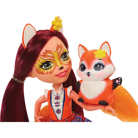 Enchantimals Fox Doll | Baby/ Kid's Playtime/ Fun Toy | Best Gift To Birthday Girl | +3 Year Thumbnail 6