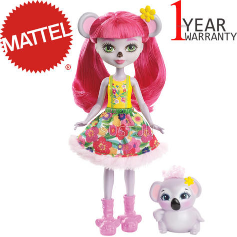 Enchantimals Koala Doll | Baby/ Kid's Playtime/ Fun Toy | Best Gift To Birthday Girl | +3 Year Thumbnail 1
