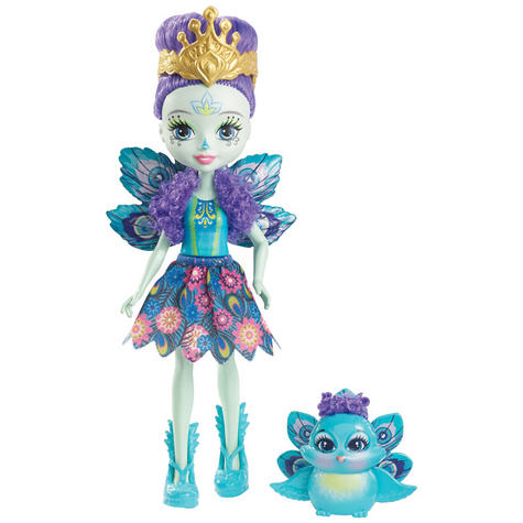 Enchantimals Peacock Doll   Baby/ Kid's Playtime/ Fun Toy   Best Gift To Birthday Girl   +3 Year Thumbnail 2