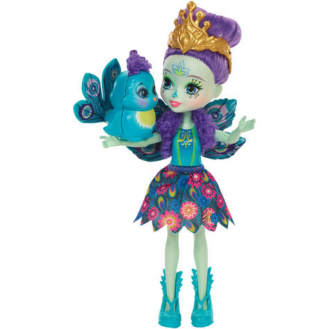 Enchantimals Peacock Doll   Baby/ Kid's Playtime/ Fun Toy   Best Gift To Birthday Girl   +3 Year Thumbnail 3