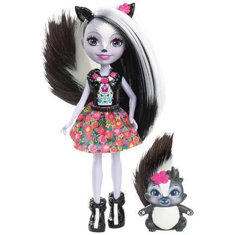 Enchantimals Skunk Doll | Baby/ Kid's Playtime/ Fun Toy | Best Gift To Birthday Girl | +3 Year Thumbnail 2
