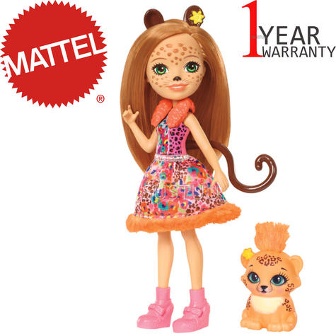 Enchantimals Cherish Cheetah Doll | Baby's Favourite Play Toy | Best Gift To Child | +3 Year Thumbnail 1