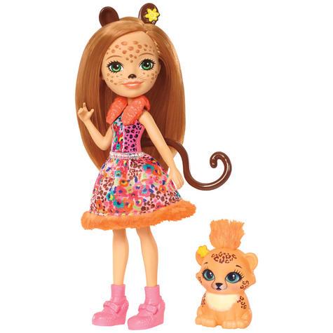 Enchantimals Cherish Cheetah Doll | Baby's Favourite Play Toy | Best Gift To Child | +3 Year Thumbnail 2