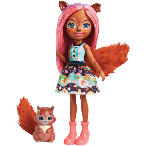 Enchantimals Sancha Squirrel Doll | Baby's Favourite Play Toy | Best Gift To Child | +3 Year Thumbnail 2