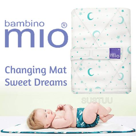 Bambino Mio Changing Mat|For Kid's Changing Nappy|Indoor/Outdoor|Sweet Dreams| Thumbnail 1