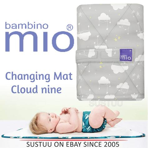 Bambino Mio Changing Mat|For Kid's Changing Nappy|Indoor/Outdoor|Cloud Nine| Thumbnail 1