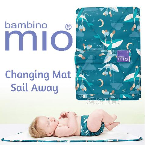 Bambino Mio Changing Mat|For Kid's Changing Nappy|Indoor/Outdoor|Sail Away| Thumbnail 1