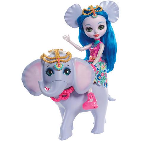 Enchantimals Large Elephant & Ekaterina Doll | Kid's Antique Storytelling Play Set | +3 years Thumbnail 3