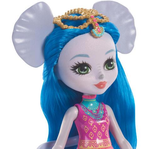 Enchantimals Large Elephant & Ekaterina Doll | Kid's Antique Storytelling Play Set | +3 years Thumbnail 4