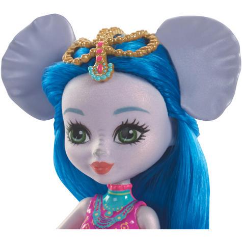 Enchantimals Large Elephant & Ekaterina Doll | Kid's Antique Storytelling Play Set | +3 years Thumbnail 5