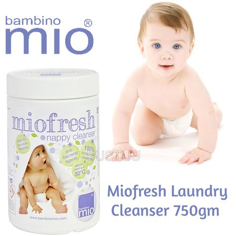 Bambino Mio Miofresh Laundry Cleanser|Kid's Nappy/Diapers Powder Cleaner|750gm| Thumbnail 1