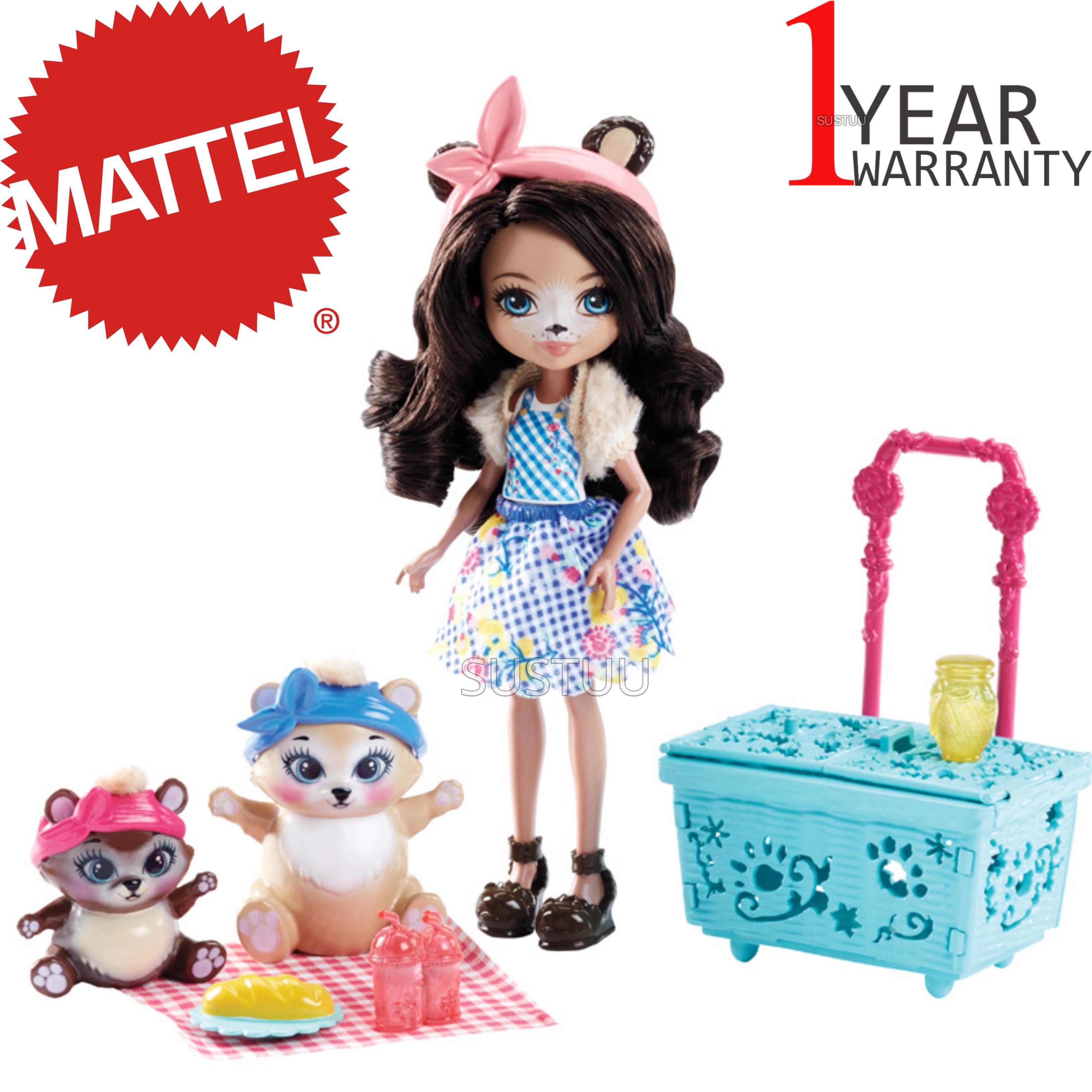 Enchantimals Playset Bear Picnic   Baby/ Kid's Antique Fun/ Playtime Toy   +3 Years
