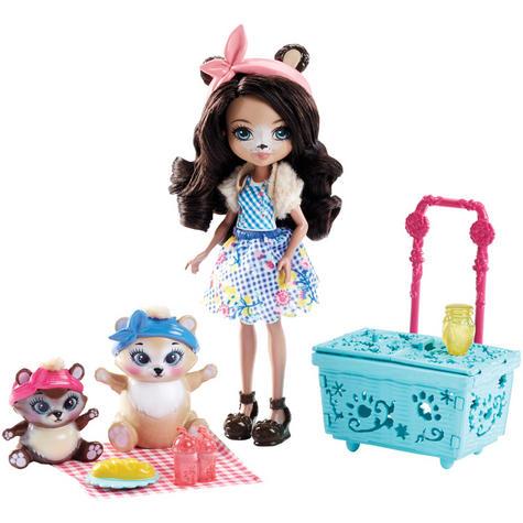 Enchantimals Playset Bear Picnic | Baby/ Kid's Antique Fun/ Playtime Toy | +3 Years Thumbnail 2