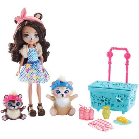 Enchantimals Playset Bear Picnic | Baby/ Kid's Antique Fun/ Playtime Toy | +3 Years Thumbnail 7