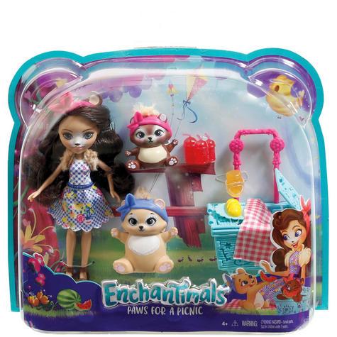 Enchantimals Playset Bear Picnic | Baby/ Kid's Antique Fun/ Playtime Toy | +3 Years Thumbnail 8
