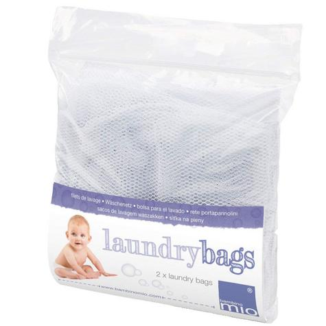 Bambino Mio Large Laundry Bags|Baby/Kid's Reusable Diaper Storage Bucket Net|2pk Thumbnail 2