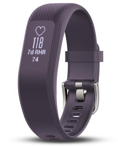 Garmin Vivosmart 3 Fitness Sports Watch|Heart Rate/Activity Tracker|Small Purple Thumbnail 2