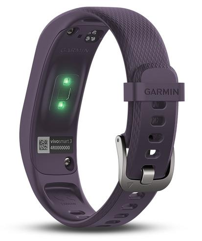 Garmin Vivosmart 3 Fitness Sports Watch|Heart Rate/Activity Tracker|Small Purple Thumbnail 4