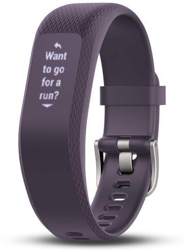 Garmin Vivosmart 3 Fitness Sports Watch|Heart Rate/Activity Tracker|Small Purple Thumbnail 7