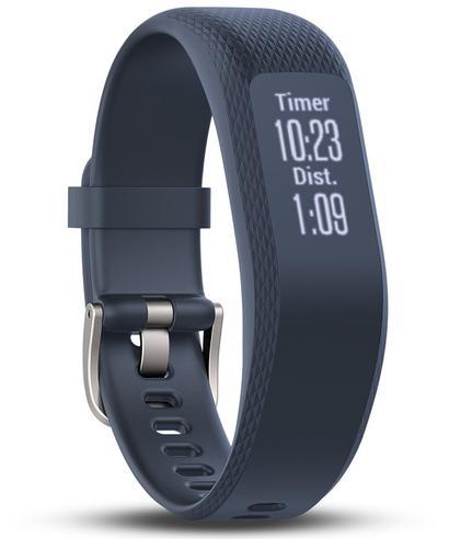 Garmin Vivosmart 3 Fitness Sports Watch|Heart Rate/Activity Tracker|Blue Small Thumbnail 2